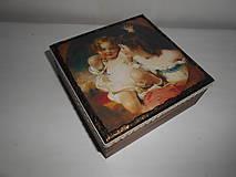 Krabičky - Krabička pre mladé dámy - 9260134_