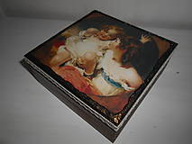 Krabičky - Krabička pre mladé dámy - 9260136_