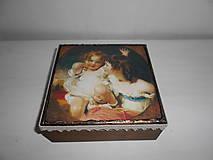 Krabičky - Krabička pre mladé dámy - 9260139_