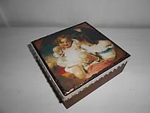 Krabičky - Krabička pre mladé dámy - 9260147_