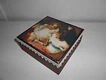 Krabičky - Krabička pre mladé dámy - 9260151_