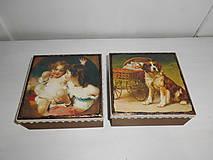 Krabičky - Krabička pre mladé dámy - 9260166_