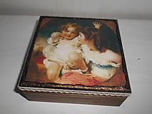 Krabičky - Krabička pre mladé dámy - 9260202_