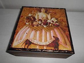 Krabičky - Krabička na šperky - 9259010_