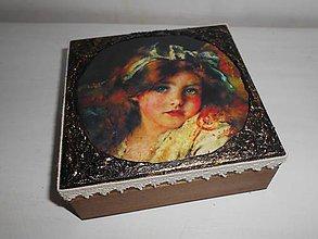 Krabičky - Krabička pre mladé dámy - 9260298_