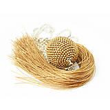 Náhrdelníky - TASSEL Gold Satine - dlhý náhrdelník so strapcom, zlatý matný - 9258110_
