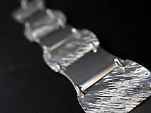 Náramky - Ryhovaný náramok - 9259342_
