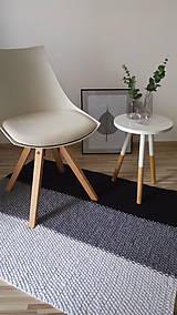 Úžitkový textil - Pletený koberec - škandinávsky - 9259976_