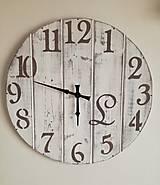 Nástenné hodinky - maxi