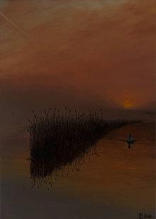 Obrazy - Obraz - Labuť na jazere - 9266446_