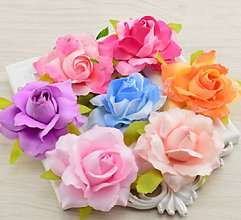 Iný materiál - 38. Rozkvitnuté ruže - 1 ks - 9267508_