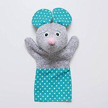 Hračky - Maňuška myšička - 9268092_