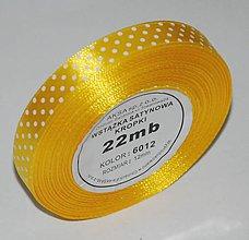 Galantéria - Stuha saténová     12 mm/ 22 m - 9268223_