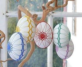 Dekorácie - kraslice - farby krokusov - 9264330_