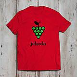 Tričká - Jahoda (dámske alebo pánske tričko) - 9267579_