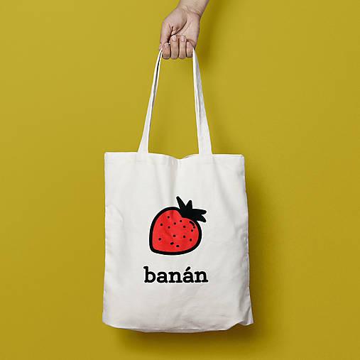 Banán (bavlnená taška)