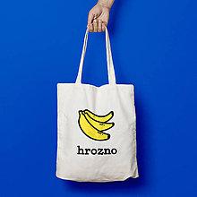 Nákupné tašky - Hrozno (bavlnená taška) - 9266953_