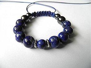 Náramky - Náramok Lapis lazuli - 9266105_