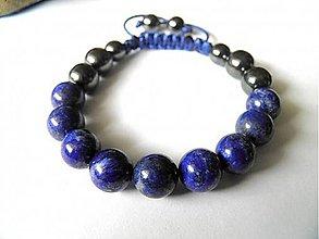 Náramky - Pánsky náramok Lapis Lazuli - 9266677_