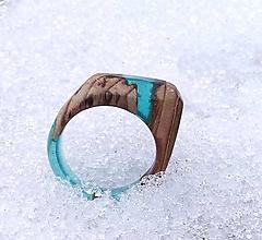 Prstene - Sininen Tammi prsteň - 9268186_