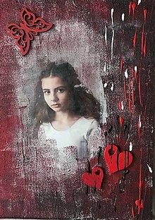 Obrazy - Portrét - moje dievčatko - 9267432_