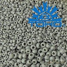 Korálky - Toho Rokajl 11/0 - Opaque Gray č.53 25g - 9270004_