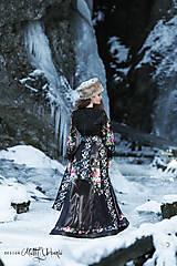 Šaty - čierne FOLK šaty - 9273250_