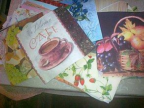 Papier - AKCIA servítky 100 ks kuchyňa a ovocie - 9268947_