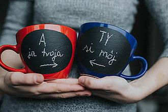 Nádoby - Ty si môj a ja tvoja - 9272984_