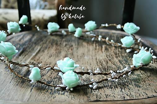 Mentolová tiara   katusha.handmade - SAShE.sk - Handmade Ozdoby do ... 835e95a14f3