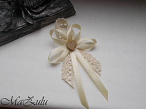 """Pierka - svadobné pierko """"Vintage"""" č.3 - 9270120_"""