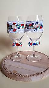 folklórne svadobné poháre