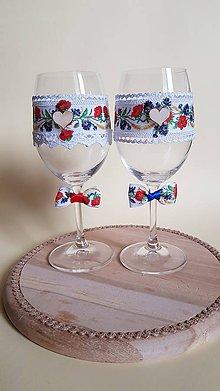Nádoby - folklórne svadobné poháre - 9271183_