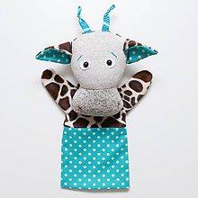Textil - Maňuška žirafa - 9273362_