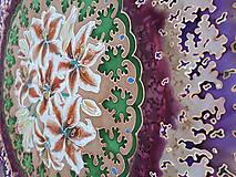 Šatky - Pobrežie ľalií-hodvábna maľovaná šatka - 9272550_