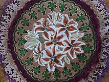 Šatky - Pobrežie ľalií-hodvábna maľovaná šatka - 9272557_