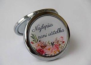Zrkadielka - Zrkadielko pre pani učiteľku - 9270575_