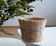 Košíky - pletený košík IV. - 9271680_