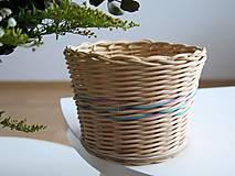 Košíky - pletený košík IV. - 9271682_