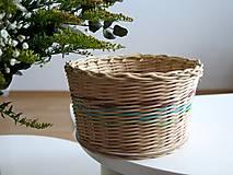 Košíky - pletený košík V. - 9271689_