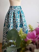 - slávnostná sukňa Smaragdový ornament - 9273407_