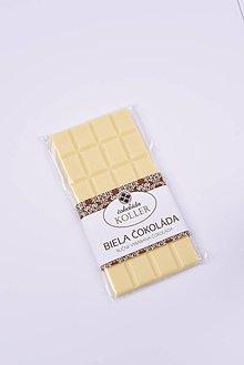 Potraviny - Biela čokoláda - 9269175_