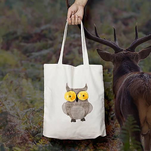 Sovička (bavlnená taška)