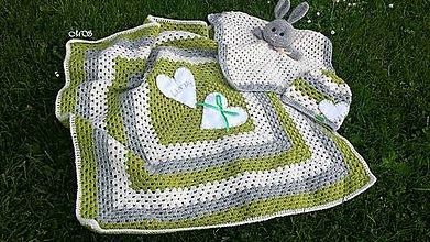 Textil - Detská deka - štvorec (L) - 9271874_