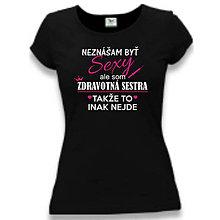 Tričká - Dámske tričko pre zdravotné sestry - 9273368_