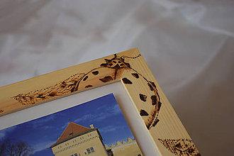 Krabičky - Drevená krabica - fotorám - 9270365_