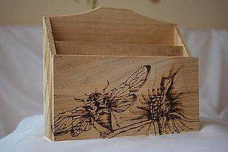 Krabičky - Drevená krabica - triedič - 9271510_
