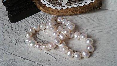 Korálky - Riečna perla 9mm - 9273259_