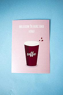 Papiernictvo - Pohľadnica Coffee - 9271627_