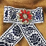 Odznaky/Brošne - Hand Made mašľa, bow - 9271518_